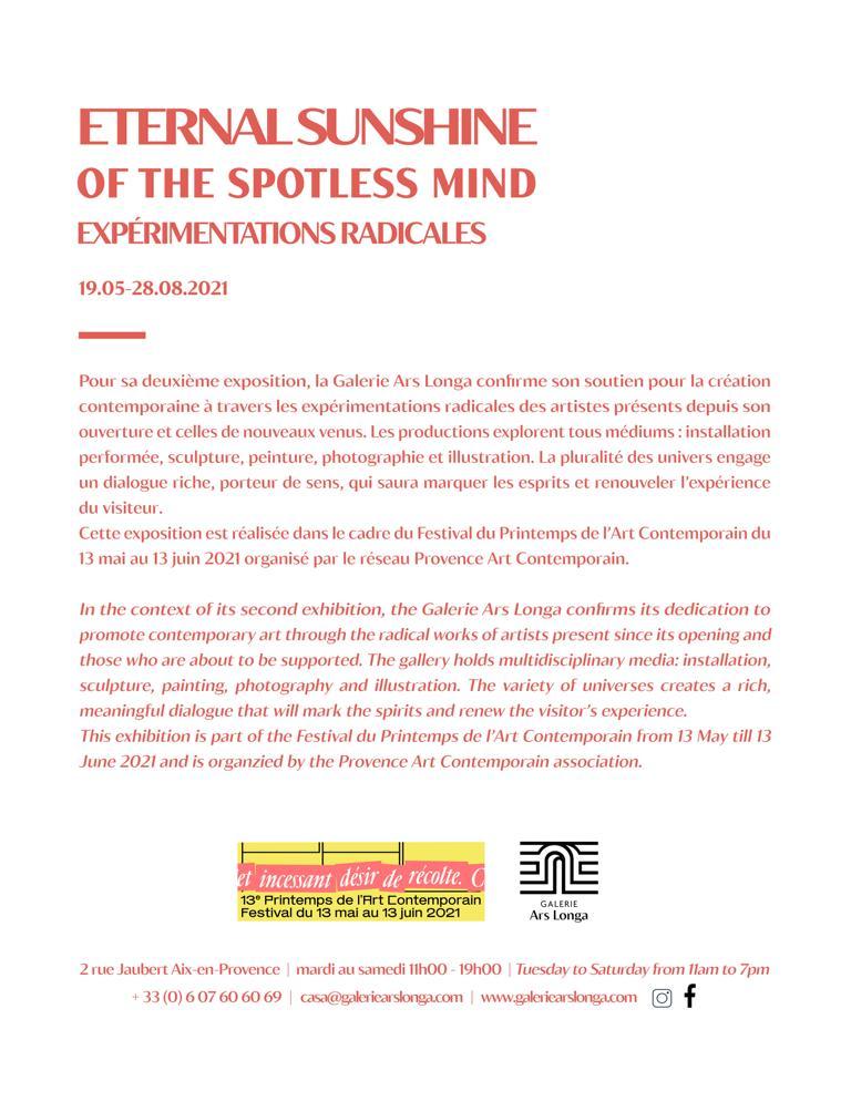 Flyer Galerie Ars Longa verso
